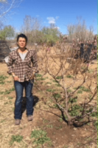 Shepherd of the Valley Presbyterian Church in Albuquerque, NM donates trees to the Rio Grande Community Gardent